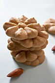 Flower Shaped Almond Spritz Cookies