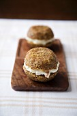 Two whoopie pies