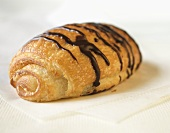 Chocolate Croissant, Close Up