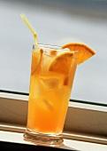Orange Drink with Orange Wedges