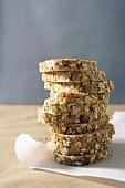 Tall Stack of Multi-Grain Bread