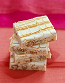 Frosted Butterscotch Bars, Stacked