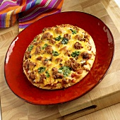 Mexican Pizza with Chorizo
