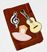 Three Assorted Themed Sugar Cookies: Music and Ballet