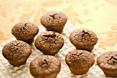 Brownies Baked in Mini Muffin Tins