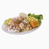 CauCau de Camarones (seafood dish, Peru)