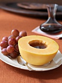Melone al balsamico (Cantaloupe melon with balsamic vinegar)