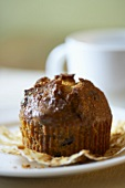 A Bran and Raisin Muffin, Paper Removed