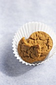 Ginger Snaps in a Paper Cup, One Bitten