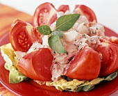 Tomato and Crab Salad