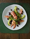 Lobster and Avocado Salad with Beets