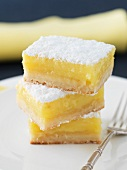 Stack of Lemon Squares