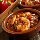 Shrimp Creole Over Rice