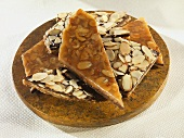 Chocolate Honey Almond Crunch Bark