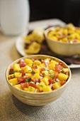 Bowl of Tomato Mango Salsa