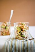 Seafood Salad in a Glass
