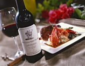 Cabernet Sauvignon Wine with Lobster Dinner