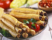 Plate of Assorted Taquitos