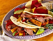Beef and Bell Pepper Tacos
