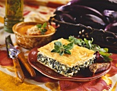 Piece of Spanakopita