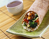 Chicken Stir Fry Wrap