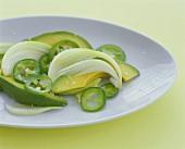 Avocado and Jalapeno Salad