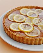 Tart with Lemon Slices