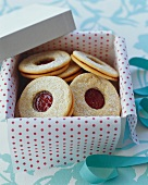 Jam Filled Cookies in Gift Box