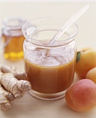 Jar of Apricot Ginger Sauce
