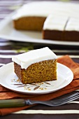 Spice Pumpkin Cake with Icing