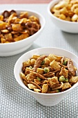 Chex Snack Mix with Wasabi Peas