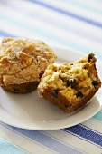 Apricot and Chocolate Chip Muffin