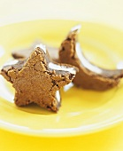Star and Moon Peppermint Surprise Brownie Bites