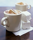 Mug of Hot Chocolate with Homemade Marshmallows