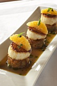 Citrus Scallop Hors d'oeuvres