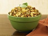 Bowl of Thanksgiving Stuffing