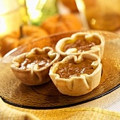 Three Mini Pumpkin Pies