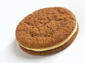 Ginger Snap Cookie with Lemon Cream Filling