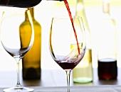 Cabernet Sauvignon einschenken