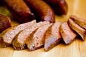 Sliced Jalapeno Beef Sausage