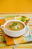 Bowl of Sunflower Butter Soup