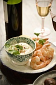 Shrimp Appetizer with Dipping Sauce