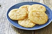 Sandollar Cookies; Cinnamon, Almond Sugar Cookies