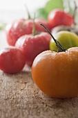Assorted Wet Heirloom Tomatoes