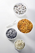 Specialty Sea Salts in Bowls