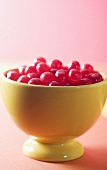 Bowl of Cherry Sours; Old Fashioned Candy