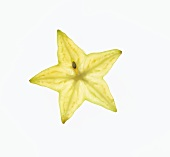 Slice of Fresh Star Fruit