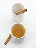 Tea in a Cup, Cinnamon Sticks