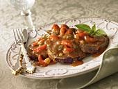 Crawfish Etouffe (Flusskrebsgericht aus New Orleans, USA)