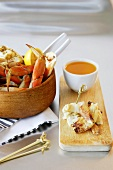 Dungeness Crab with Dipping Sauce